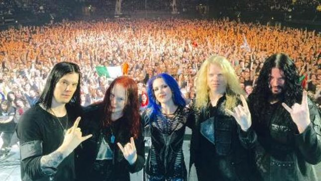 ARCH ENEMY - Fan-Filmed Video From Wembley Arena Show In London Posted