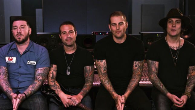 avenged sevenfold hosts new curated show playable in guitar hero live trailer video. Black Bedroom Furniture Sets. Home Design Ideas