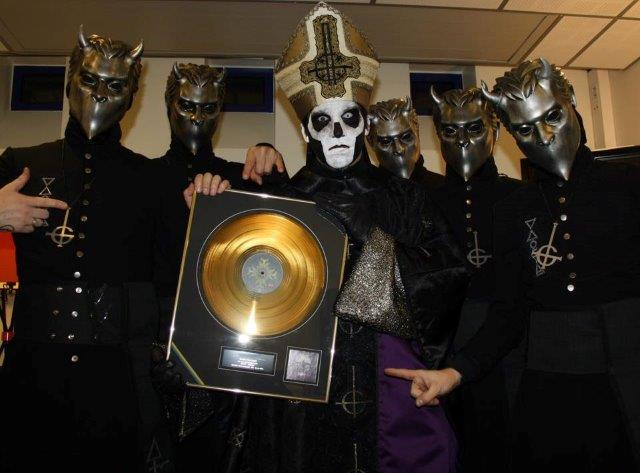 GHOST - Meliora Certified Gold In Sweden