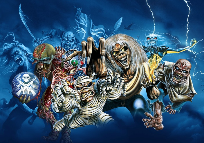 iron maiden behindthescenes video from massive