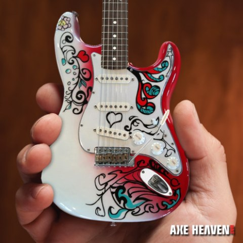 jimi hendrix mini guitar collection released. Black Bedroom Furniture Sets. Home Design Ideas