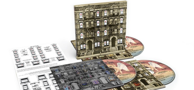 LED ZEPPELIN - Physical Graffiti Storming The Charts In The UK, US 40 Years After Release