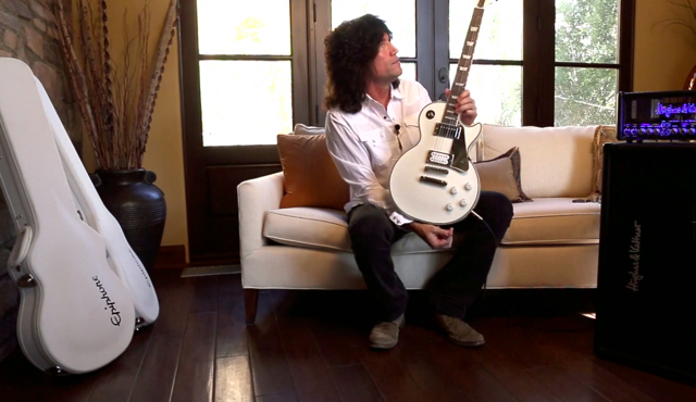 "KISS Guitarist TOMMY THAYER On ACE FREHLEY - ""As Far As The Jabs And All That, He Can Say That Stuff And I'm Not Going To Say Anything Bad About Him"""