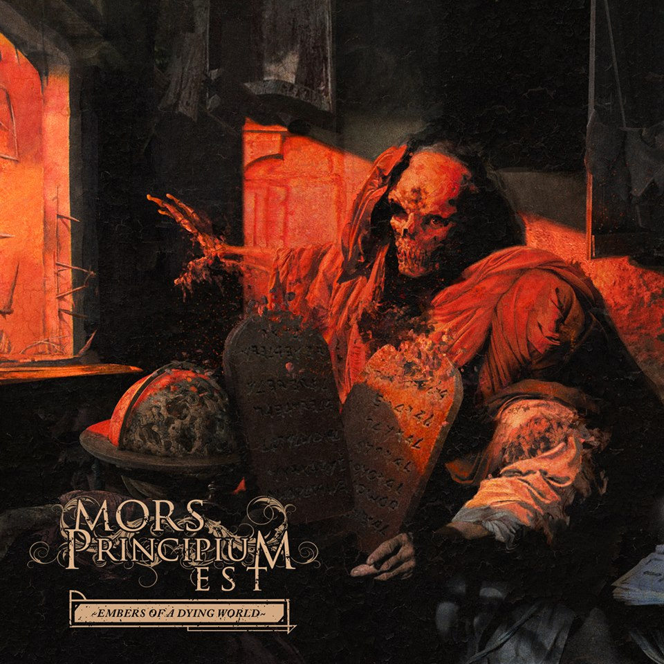 Image result for album art Mors Principium Est: Embers Of A Dying World