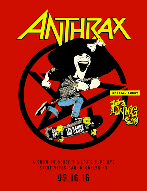 Anthrax Facebook Live Event Scheduled For 2 Pm Tomorrow