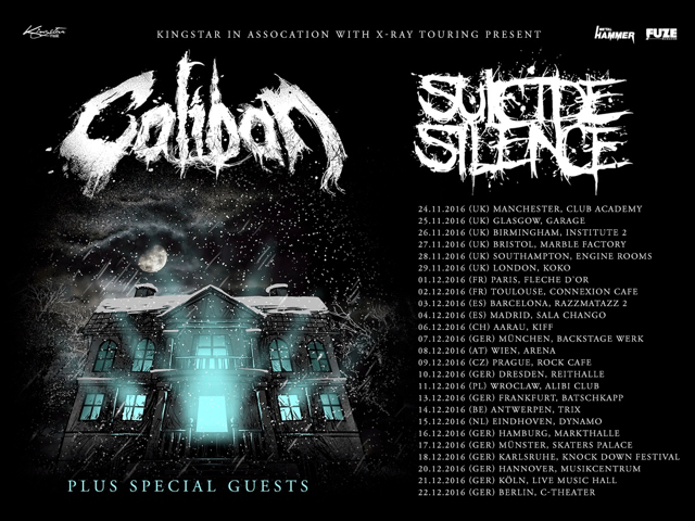 CALIBAN Announce European Tour With SUICIDE SILENCE ...