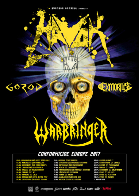 Havok, Exmortus, Warbringer...