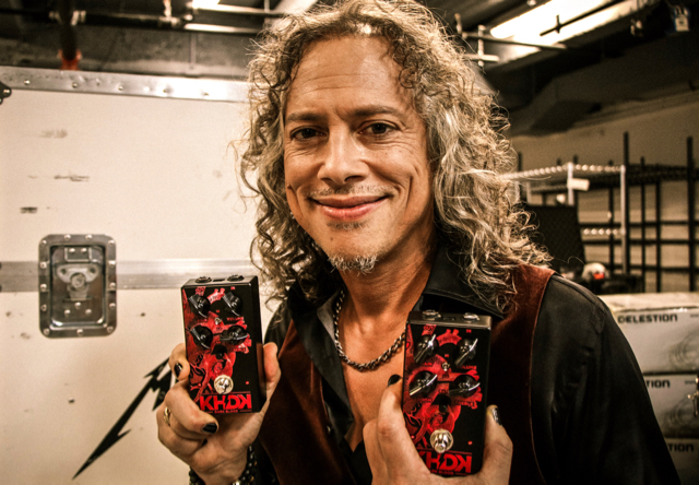 metallica guitarist kirk hammett discusses khdk electronics it s not a vanity thing for me. Black Bedroom Furniture Sets. Home Design Ideas