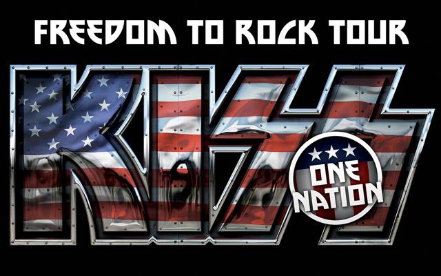 Kiss Freedom To Rock Tour April