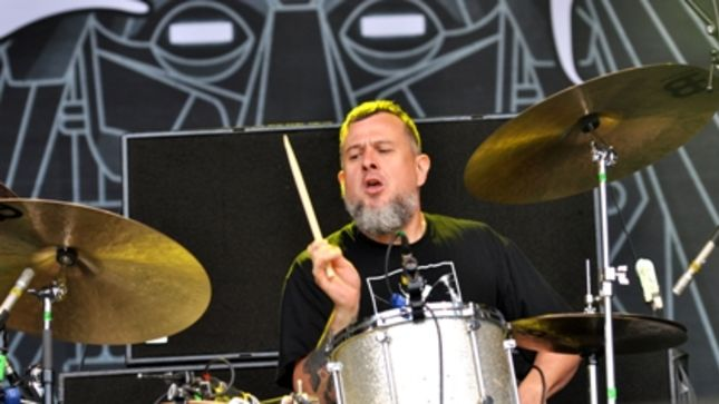CLUTCH's JEAN-PAUL GASTER Runs Down Top 5 Drummers (Video)