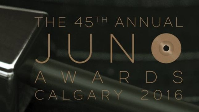 KATAKLYSM, DIEMONDS, FUCK THE FACTS, CANCER BATS, KEN MODE Nominated For Heavy Metal Album Of The Year JUNO Award