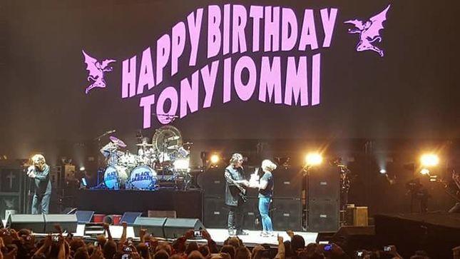 Black Sabbath Tony Iommi Celebrates Birthday In Michigan
