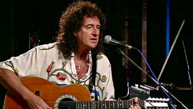 """QUEEN Guitarist BRIAN MAY Performs 12-String Acoustic Version Of """"'39""""; A Night At The Opera DVD Video Posted"""