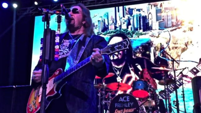 "ACE FREHLEY Performs KISS Classic ""Parasite"" In Dallas; Quality Video Streaming"