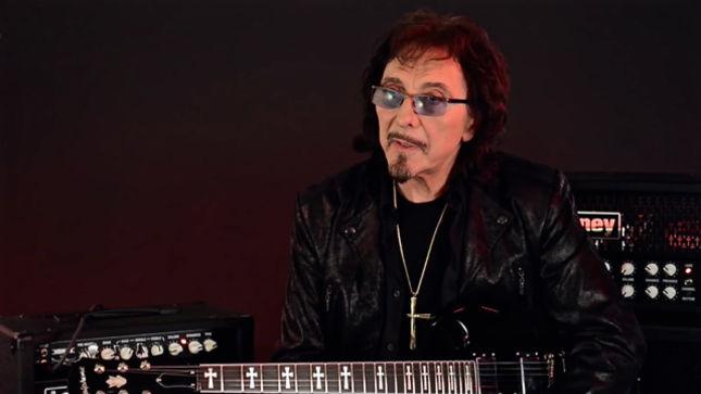 BLACK SABBATH Guitarist TONY IOMMI Discusses Epiphone Limited