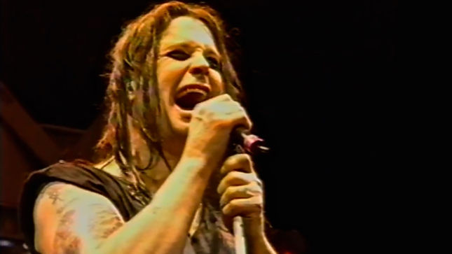 "OZZY OSBOURNE Posts Rare Live Video From Ozzfest 1996; ""Perry Mason"" Clip Streaming"