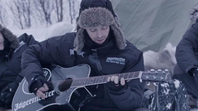 BULLET FOR MY VALENTINE Singer MATT TUCK Completes Jägermeister Ice Cold  Gig Challenge; Video