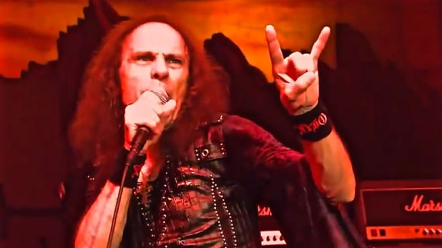 RONNIE JAMES DIO - Fan-Filmed Video Surfaces Of Hologram