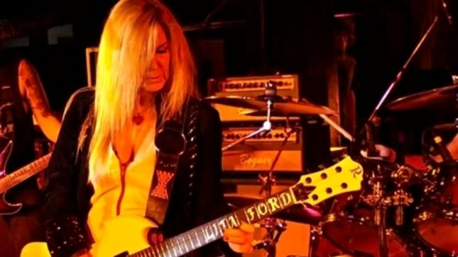 "LITA FORD Talks New Autobiography - ""Going Through THE RUNAWAYS Was Kind Of Like Going Through College; Learning How To Be Whatever It Is You Want To Be In Life"""