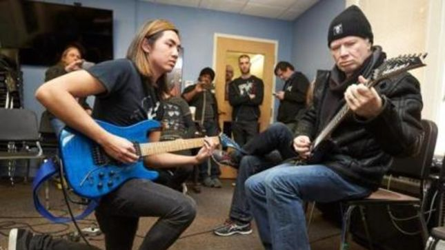 Megadeth Stop By Berklee College Of Music Shred With