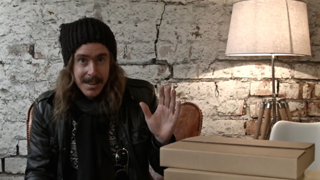 1b77720b0f1 OPETH s Mikael Åkerfeldt Previews 25th Anniversary Book Of Opeth  Video