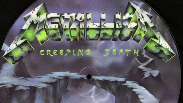 "METALLICA Streaming Remastered Version Of ""Creeping Death"" From Ride The Lightning Deluxe Remastered Box Set"