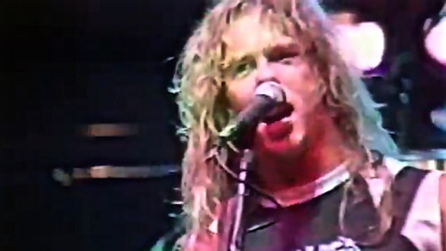 "METALLICA Live At Metal Hammer Festival 1985 - Rare ""No Remorse"" Video Footage Streaming"