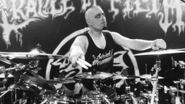 CRADLE OF FILTH Drummer MARTIN SKAROUPKA Posts