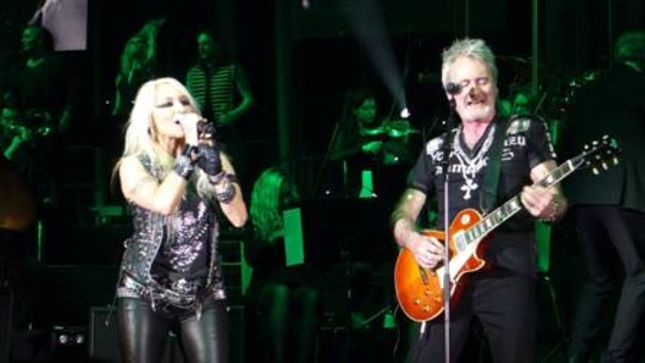 """DORO Performs Two WARLOCK Hits, THE SWEET's """"Ballroom Blitz"""" On ROCK MEETS CLASSIC History Of Rock Tour 2016; Fan Filmed Video Available"""