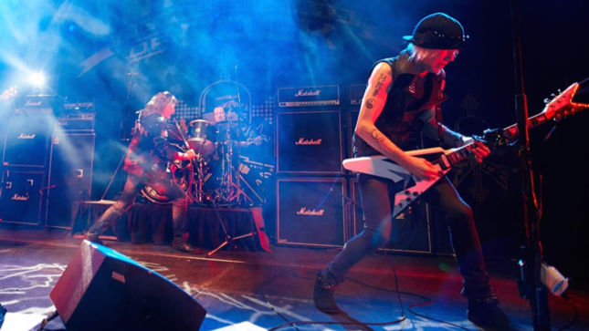 MICHAEL SCHENKER's TEMPLE OF ROCK - More Details Revealed For On A Mission: Live In Madrid CD, DVD, Blu-Ray; Video Trailer Posted