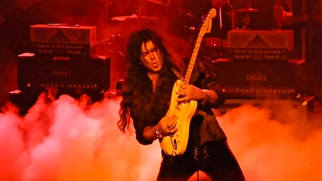 YNGWIE MALMSTEEN Announces Exclusive Guitar Clinic / Solo Performance In Toronto