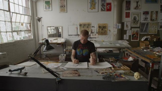 Iconic Cleveland-Based Artist DEREK HESS Releases Intimate Award-Winning Documentary Forced Perspective