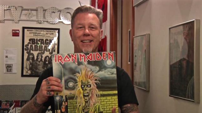 Metallica Frontman James Hetfield Shares Early Record
