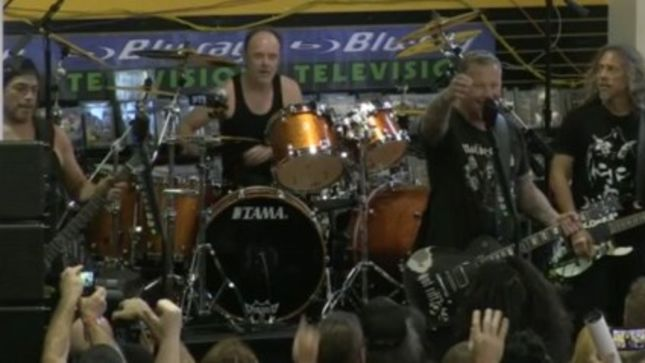 METALLICA – Record Store Day Performance From Rasputin Music Available For Download