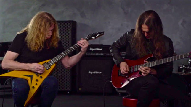 "MEGADETH - ""Fatal Illusion"" Playthrough With DAVE MUSTAINE And KIKO LOUREIRO; Video"