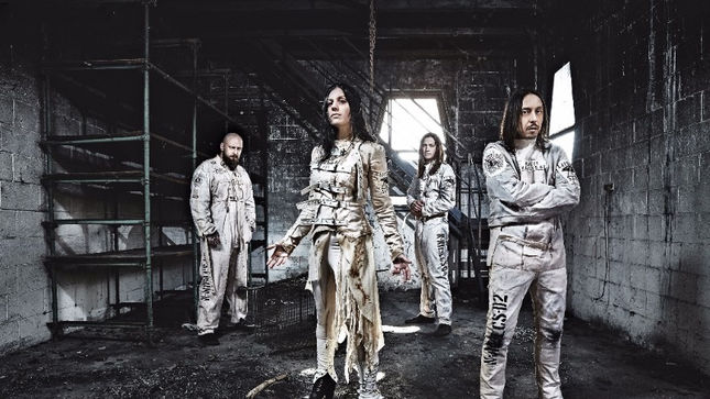 LACUNA COIL Announce Second Leg Of Delirium North American Tour; Joined By STITCHED UP HEART, 9ELECTRIC, PAINTED WIVES