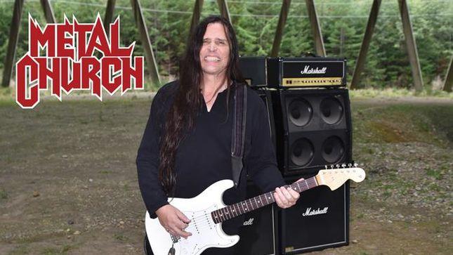 "METAL CHURCH Guitarist RICK VAN ZANDT ""Ready To Rock"" After Eyeball Surgery"