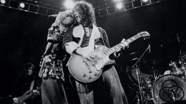 "LED ZEPPELIN's Jimmy Page Testifies At ""Stairway To Heaven"" Copyright Trial"