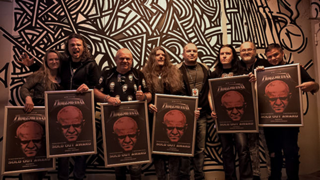 DIRKSCHNEIDER Presented With Sold Out Award For Most Successful Solo Tour