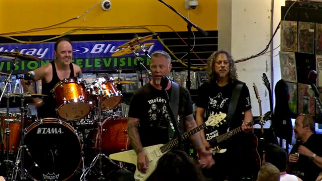 METALLICA - Quality Video Posted For Complete Rasputin Music Event