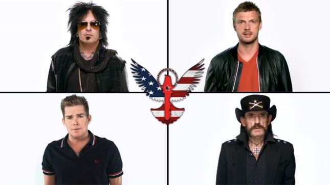 Rockers United Foundation Release New PSA Video Featuring NIKKI SIXX And Lemmy