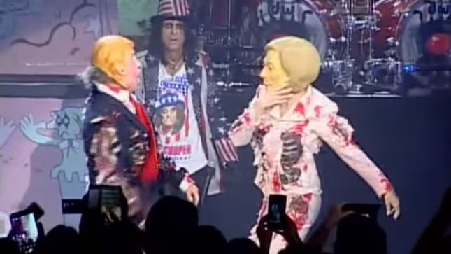 "ALICE COOPER Performs ""Elected"" Live In Biloxi; Video"