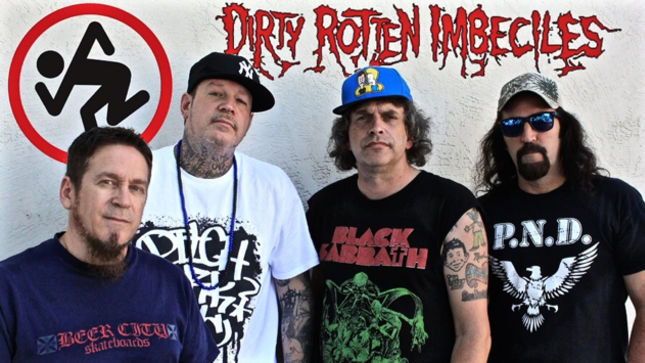 DIRTY ROTTEN IMBECILES (D.R.I.) To Release New EP In June; Audio Teaser Streaming