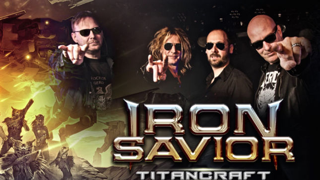 "IRON SAVIOR Debut ""Beyond The Horizon"" Track; Audio Streaming"