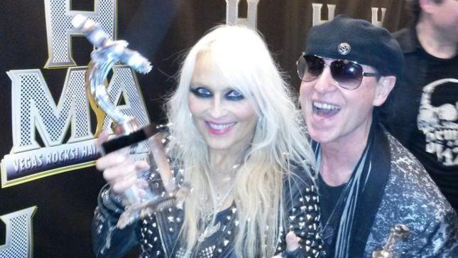 "DORO Honoured As ""Metal Goddess"" In Las Vegas"