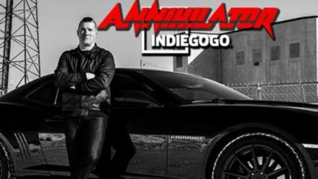 ANNIHILATOR Launch Crowdfunding Campaign To Support Forthcoming DVDs And Touring