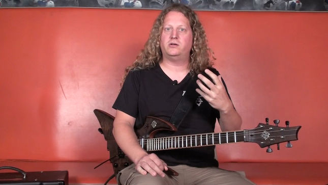 """VOIVOD Guitarist CHEWY Featured In """"Killing Technology"""" (Intro Riff) Instructional Video On PlayThisRiff.com"""