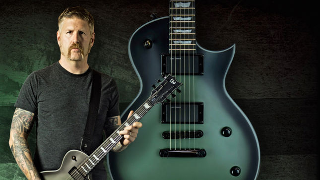 mastodon guitarist bill kelliher joins esp family with two signature series guitars. Black Bedroom Furniture Sets. Home Design Ideas