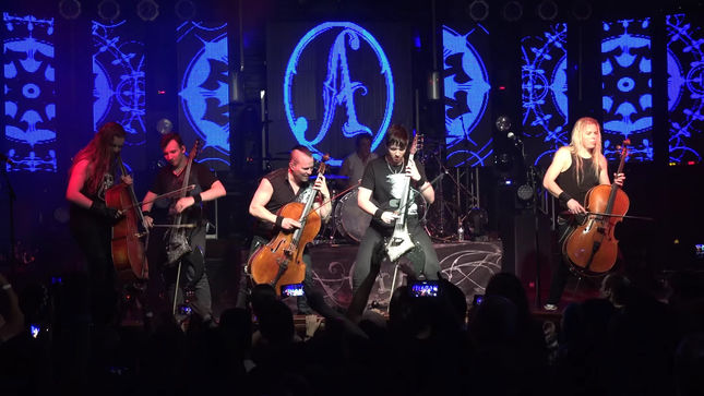 "APOCALYPTICA - ""Hall Of The Mountain King"" Live Video Streaming"