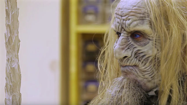 ANTHRAX Guitarist SCOTT IAN Becomes A Game Of Thrones White Walker; Video Streaming